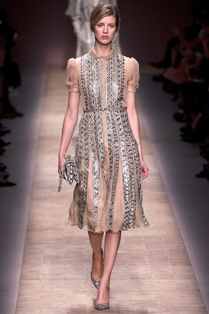 More Valentino Spring 2013 delights from Paris fashion week